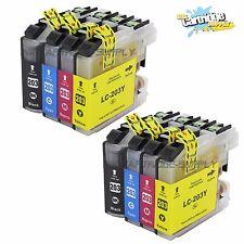 8PK LC203 XL Ink For Brother MFC-J460DW MFC-J480DW MFC-J680DW MFC-J485DW J880DW