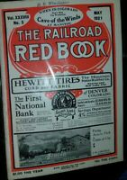 Vintage The Railroad Red Book Denver & Rio Grande Western No. 5 May 1921