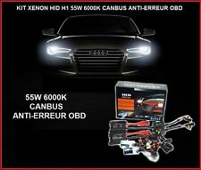 KIT XENON BALLAST 55W H1 6000K SLIM HID FEUX PHARE LED CANBUS TUNING CONVERTION