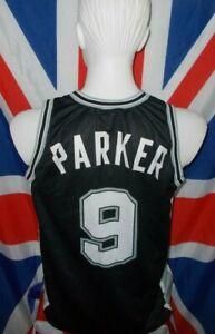San Antonio Spurs Champion NBA Basketball Jersey #9 Parker (M)