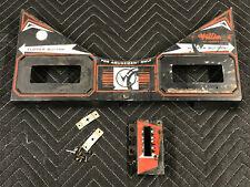 Williams Gorgar Pinball Machine Game Playfield Apron Card Holder Shooter Gauge