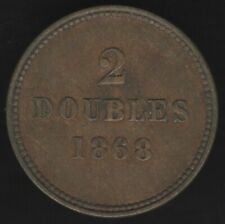 More details for 1868 guernsey 2 doubles coin | british coins | pennies2pounds