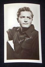 John Derek 1940's 1950's Actor's Penny Arcade Photo Card