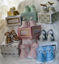"Card/Papercraft Baby ShoeTemplates CD: ""Fancy Footwear""  Frandor Formats CD424"