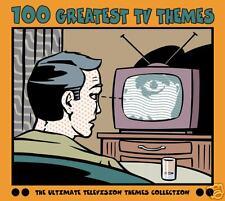 100 Greatest TV Themes - 4CD set