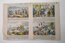 Gravure XIXème - Imagerie Populaire - Les Grandes Journées de la Révolution