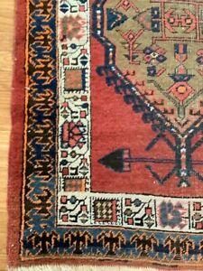 runner rug wool -Persian runner 12x3 ft