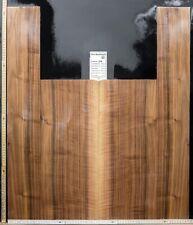 Tonewood Nero Noce Risonanza Chitarra Builder Acoustic Schienali & Lato 279