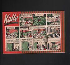 Kalle Libelle bambini giornale 1953 nello stato (0-1) - (1) Numero: 37,36,42,48 - 51