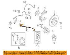 MINI OEM 11-15 Cooper Front Brake-Disc Pad Wear Indicator Sensor 34356792572