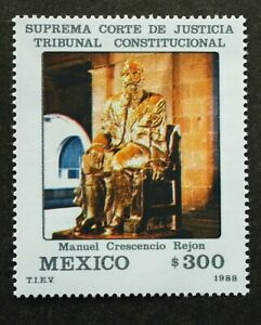 Mexico The Supreme Court Constitutional Court 1988 (stamp) MNH