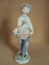 Sale - Was $99 Lladro Little Gardener Mint!