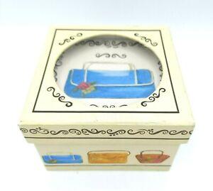 New in Box MWW Market Mini Square Plates Ladies' Purses