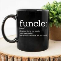 Funcle Mugfunny Uncle Mug Worlds Best Uncle Gifts For Uncle Uncle Jokes Gift For