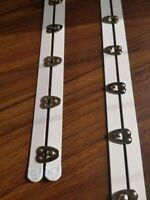 10 Meter Wigona Federband Stahl beschichtet 7 mm weiss Korsett Mieder