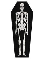 Extreme Largeness Skeleton Coffin Black Patch