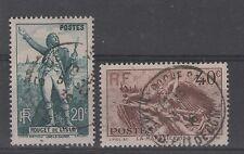 France - n° 314 et 315 oblitérés