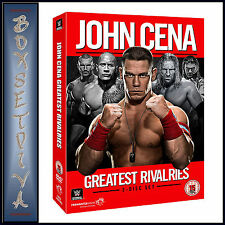 WWE - JOHN CENA - GREATEST RIVALRIES **BRAND NEW DVD**