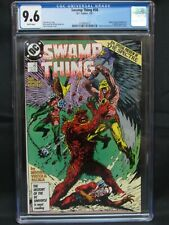 Swamp Thing #58 (1987) Classic Hawkman Appearance CGC 9.6 JD12