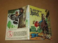 TEX N°185 PRIMA EDIZIONE  AUT 2926 IL GIUDICE MADDOX MARZO 1976