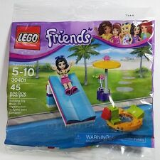 LEGO Friends Pool Foam Slide 30401 Bagged Set Brand New