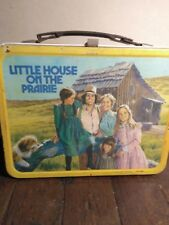 1978 Little House On The Prairie Metal Lunch Box With Thermos