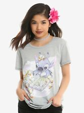 Disney Lilo & Stitch Duckies Girls T-Shirt Large NWT