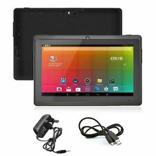 "WIFI 8GB Quad Core Android 4.4 Tablet with Dual Camera Bluetooth Tablet 7"" NEW"