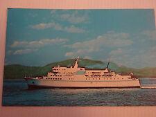VINTAGE-MV QUEEN OF PRINCE RUPERT-VICTORIA-B.C.--POSTCARD
