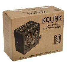 Kolink Core Series KL-C500 500W 80 Plus Certified PSU ATX PC Power Supply Unit