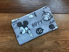 HANDMADE ZIPPED COIN PURSE MADE USING DISNEY MICKEY MOUSE & FRIENDS FABRIC