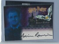 Harry Potter Sorcerer's Stone Adrian Rawlins As James Potter Autograph Card