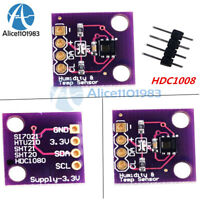 HDC1080 Digital Temperature and Humidity Sensor Breakout Board for Arduino