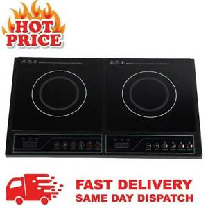 3400W Portable Quest Digital Twin Induction Hob Double Electric Cooker Hot Plate