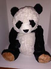 "2013 Toys R Us Black And White Panda Teddy Bear Plush 22"" Tall"