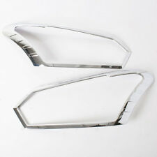 Chrome Cover Headlight Trims Fit Isuzu D-Max Pickup 2016 Thai Product