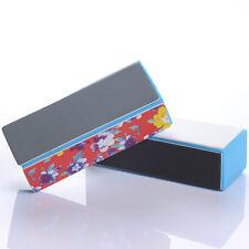 2Pcs 4 Way Nail Art Buffer Files Shiner/Polish Block Acrylic Manicure Tools