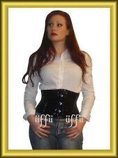 In vita corsetto in PVC VERNICE Taglia 34 ~ 56