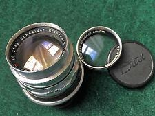 Schneider Diax Tele-Xenar 90mm f3.5 heavy chromed brass lens