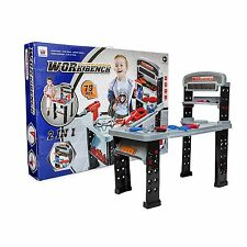 Big Daddy 2 In 1 XL Work Bench and Junior Power Tool Station with Accessories