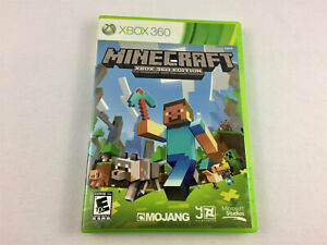 Xbox 360 - Minecraft Xbox 360 Edition, No Manual - USED, Free Shipping -