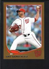 GIO GONZALEZ 2013 TOPPS MINI #626 GOLD PARALLEL NATIONALS SP #41/62