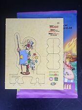 Carte Personnage N° 21 Astérix aux jeux Olympiques Match Cora ETAT NEUF