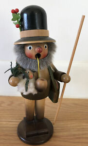 Vintage Steinbach Smoker Shepherd Sheep S747 Incense German Wooden Handmade