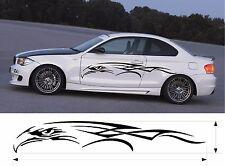 "VINYL GRAPHICS DECAL STICKER CAR BOAT AUTO TRUCK 80"" F1-116 TRIBAL EAGLE HEAD"