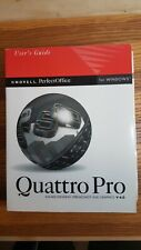 Quattro Pro V 6.0 User's Guide for Windows Novell Perfect Office