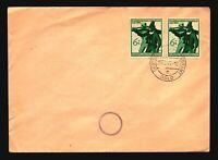 Germany 1944 Innsbruck Series Cover / Oslo CDS / Light Creases - Z16759