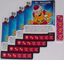4 X MR MXYZPTLK: TRICKSTER 58 World's Finest DC Dice Masters