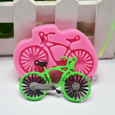 1Pc Silicone Bicycle Cake Chocolate Cookie Baking Mould Mold Jelly Baking Tray