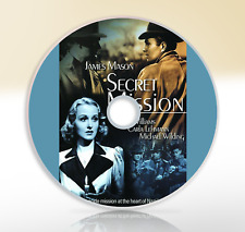 Secret Mission (1942) DVD Classic War Thriller Film James Mason Hugh Williams
